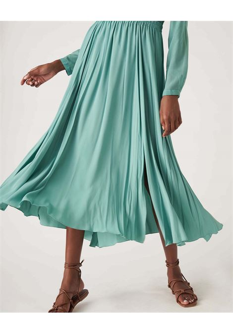 Long wide skirt with crepe elastic JUCCA | Skirts | J3315003314