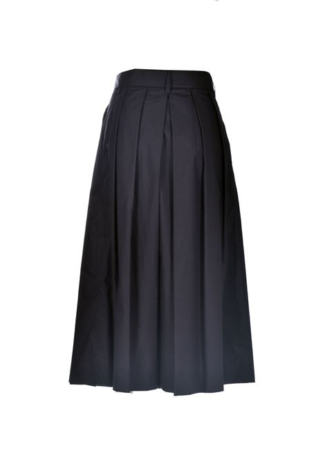 High-waisted midi skirt with pleats JUCCA | Skirts | J3315101003