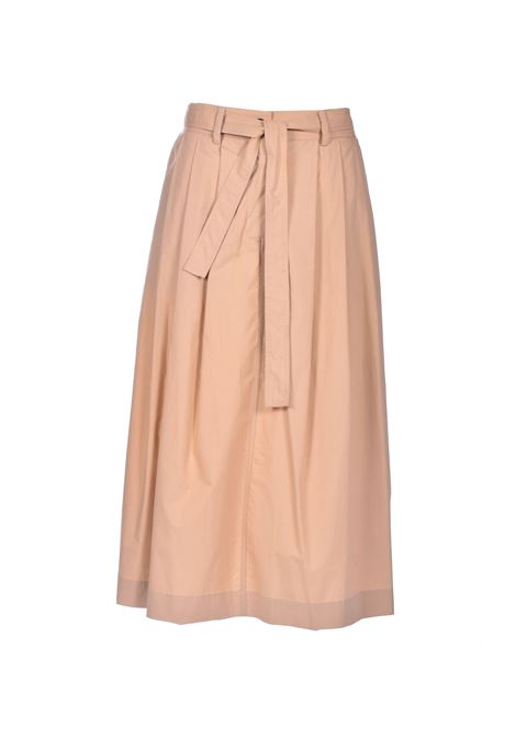 High-waisted midi skirt with pleats JUCCA | Skirts | J33151011159