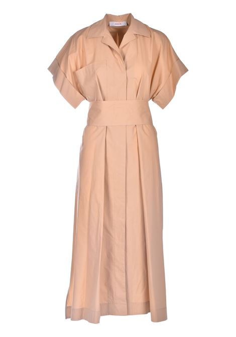 Wide cotton shirt dress with belt JUCCA |  | J33170001159