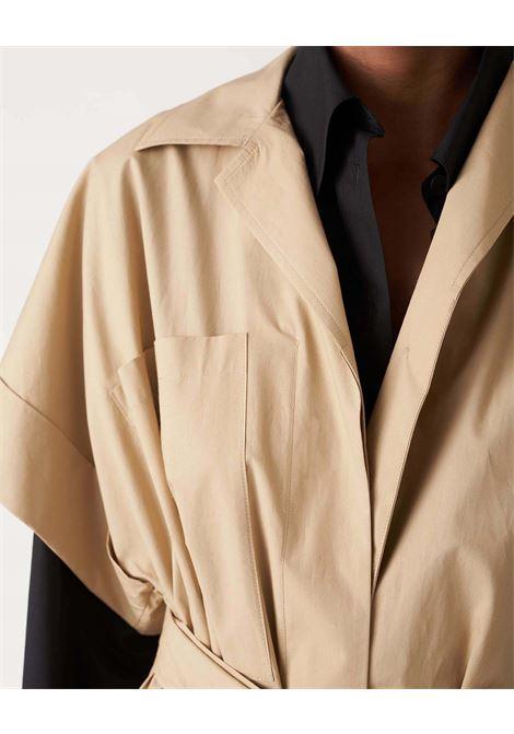 Chemisier ampio in cotone con cintura JUCCA | Vestiti | J33170001159