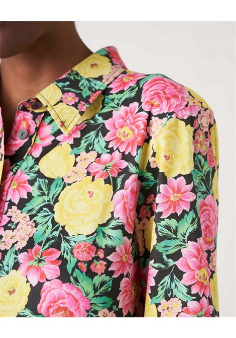 Midi shirt in cotton with floral pattern JUCCA |  | J3317019003