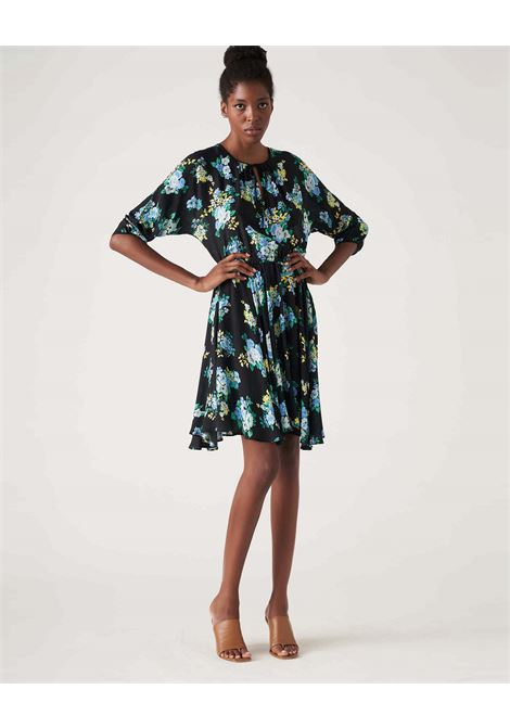 Short dress in floral patterned crepe JUCCA |  | J3317021003