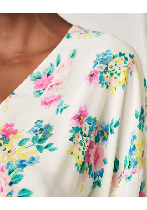 Vestito ampio in crepe fantasia floreale JUCCA | Vestiti | J3317022061