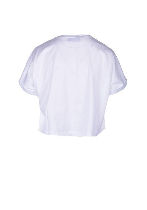 Short boxy t-shirt in cotton JUCCA | T-shirt | J3318012001