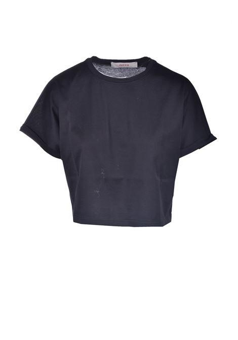 T-shirt boxy corta in cotone JUCCA | T-shirt | J3318012003