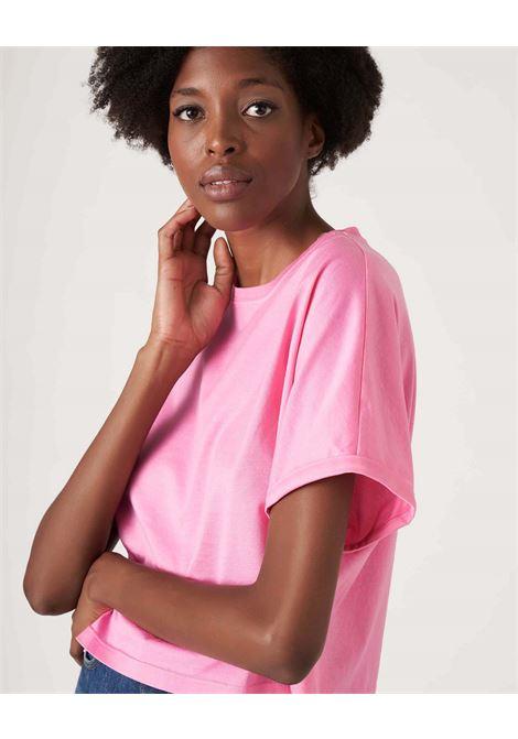 T-shirt boxy corta in cotone JUCCA | T-shirt | J33180121701