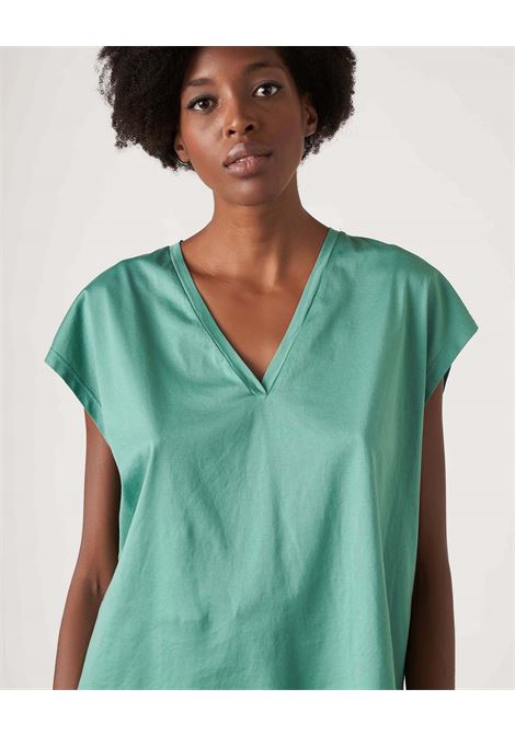 Oversize t-shirt in aurora cotton JUCCA | T-shirt | J3318014314