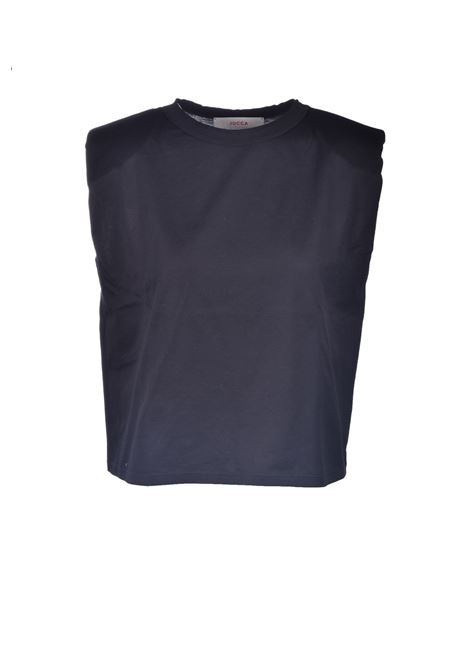 T-shirt in cotone con spalline JUCCA | T-shirt | J3318021003