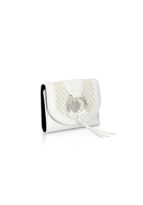 Vicky Wallet HAPPY Straw White LE PANDORINE | Wallet | DBP0281106