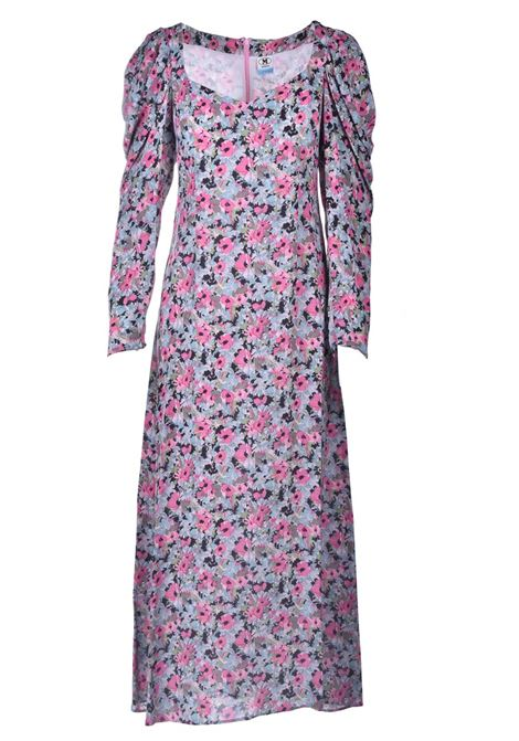 Long dress in pink floral pattern M MISSONI |  | 2DG00547/2W006ZS307S
