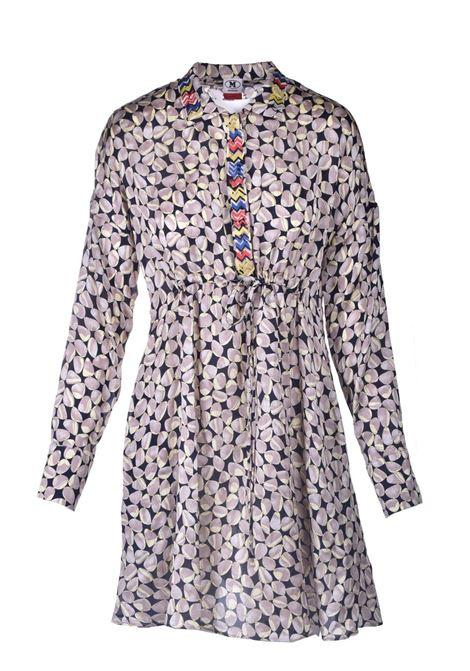 Short chemisier in patterned silk M MISSONI |  | 2DG00552/2W0072SM49Z
