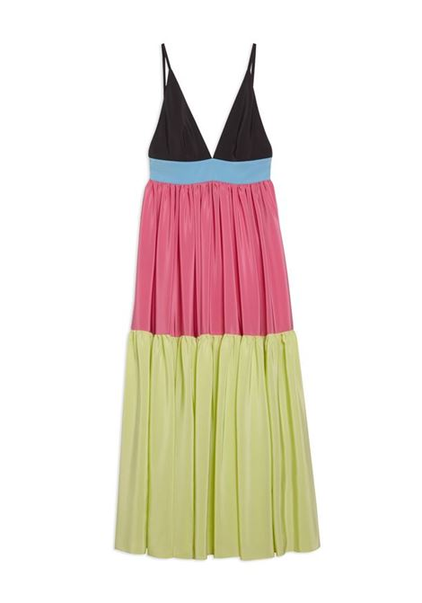 Long silk satin dress with straps M MISSONI |  | 2DG00603/2W007FSM55T
