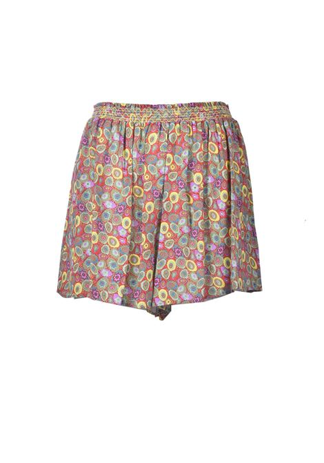Forest green crepe shorts M MISSONI | Shorts | 2DI00294/2W007AS40EK