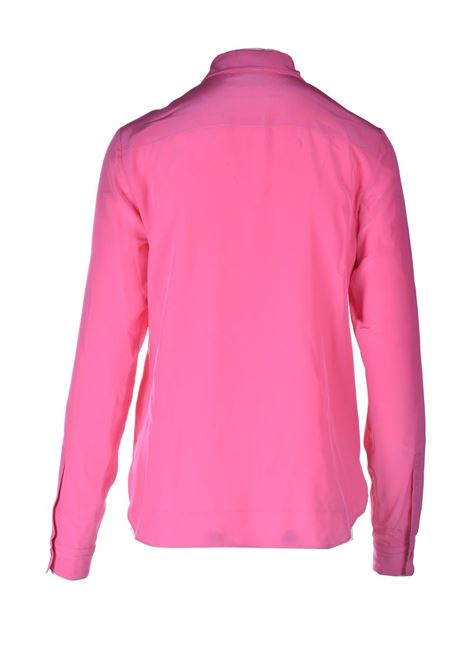 Classic shirt in pink silk M MISSONI | Shirts | 2DJ00130/2W001082133