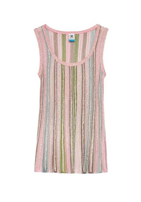 Multicolor ribbed lamé jersey tank top M MISSONI | Tops | 2DK00083/2K0090L302P