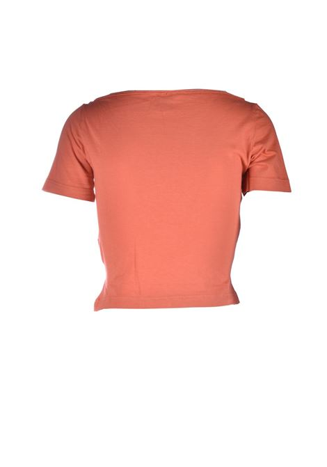 Short T-shirt with orange knot M MISSONI | T-shirt | 2DL00087/2J005G81447
