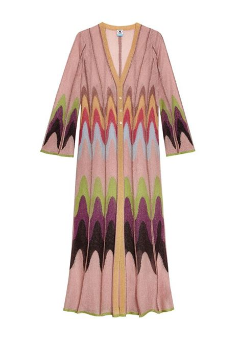Long cardigan in multricolor lurex M MISSONI | Knitwear | 2DM00162/2K009DL302V