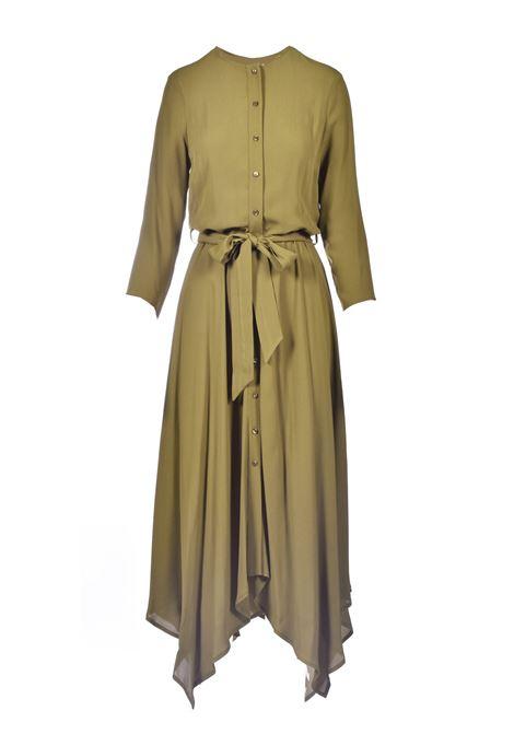 Shirt dress with three-quarter sleeves MANILA GRACE |  | A138VUMA014