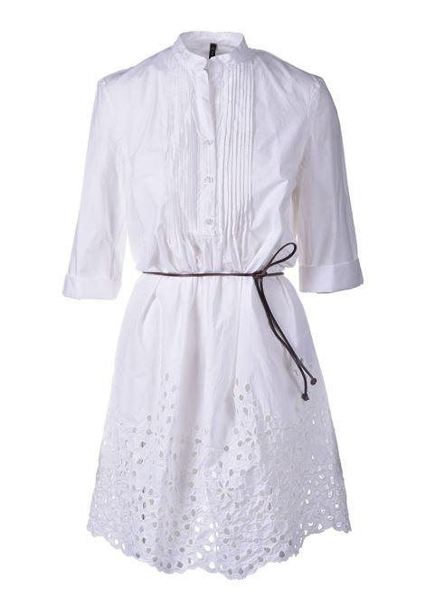 Short dress with lace and band collar MANILA GRACE |  | A265CUMA043
