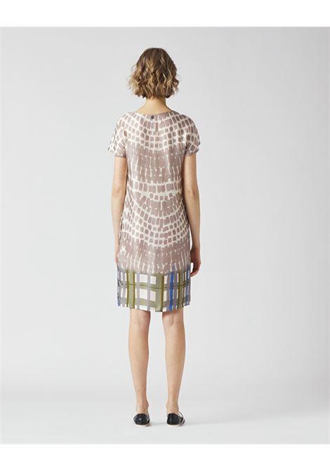 Printed crepe sheath dress MANILA GRACE |  | A328VSMA042