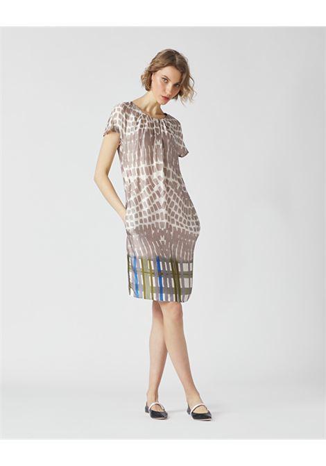 Abito tubino in crepe stampato MANILA GRACE | Vestiti | A328VSMA042