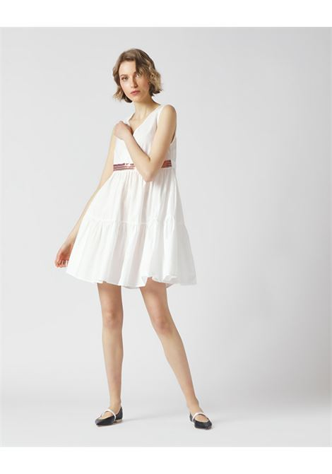 Short dress with sequins MANILA GRACE |  | A401CUMA043