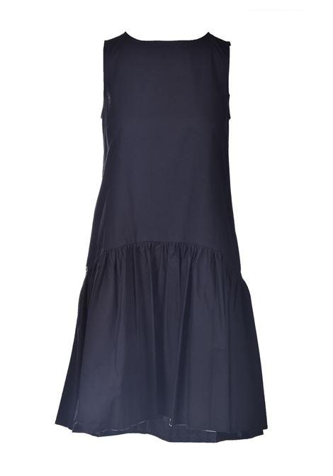 Armholes dress with flounce MANILA GRACE |  | A537CUMD500
