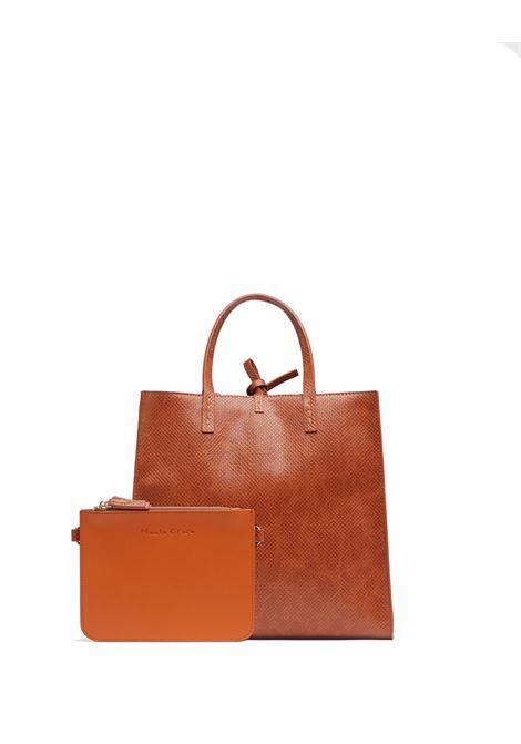 Felicia Medium handbag with crock lizard effect MANILA GRACE | Bags | B002EUMA045