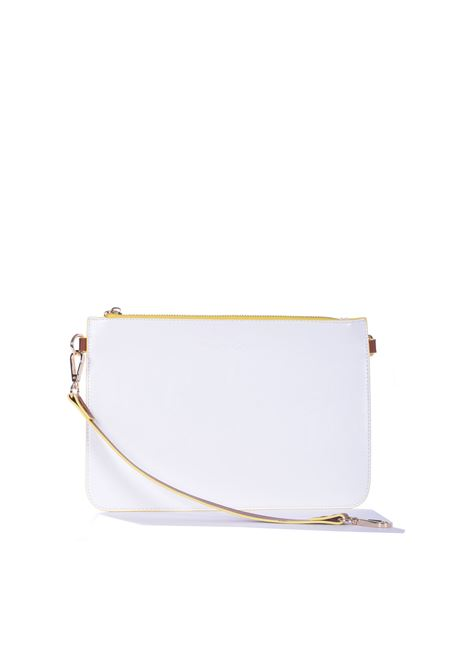 Medium Doris handbag in lime eco-leather MANILA GRACE | Bags | B014EUMA012