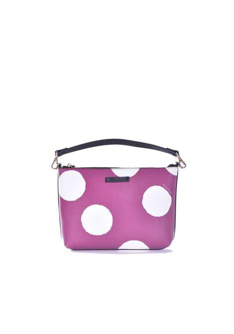 Felicia Medium handbag with grape polka dot pattern MANILA GRACE | Bags | B032ESMA004