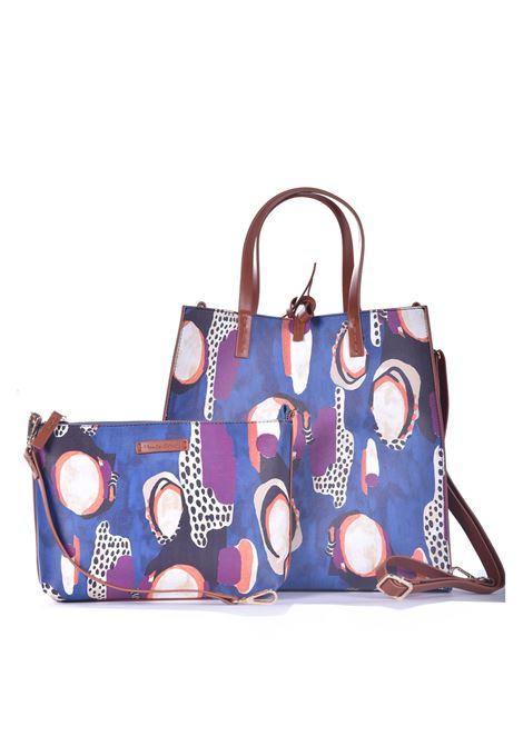Felicia Icon handbag in patterned eco-leather MANILA GRACE | Bags | B035ESMA011