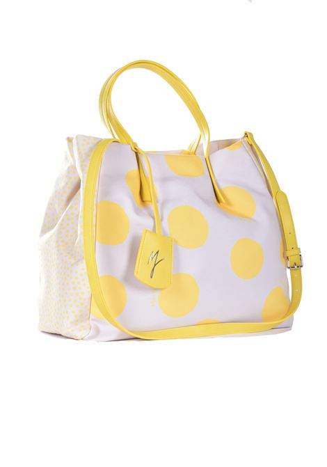 Ecoleather bag with lemon polka dots MANILA GRACE | Bags | B274TSMA137
