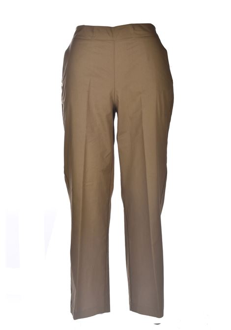 Cropped trousers with elastic on the back MANILA GRACE | Pants | P009CUMA014