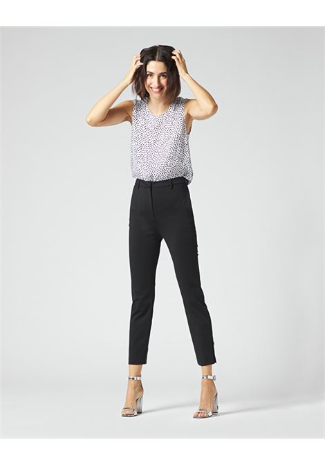 Cropped trousers with basque MANILA GRACE | Pants | P078PUMA001