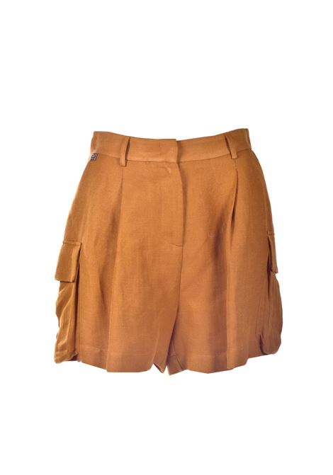 Linen shorts with pockets MANILA GRACE | Shorts | P362RUMA045