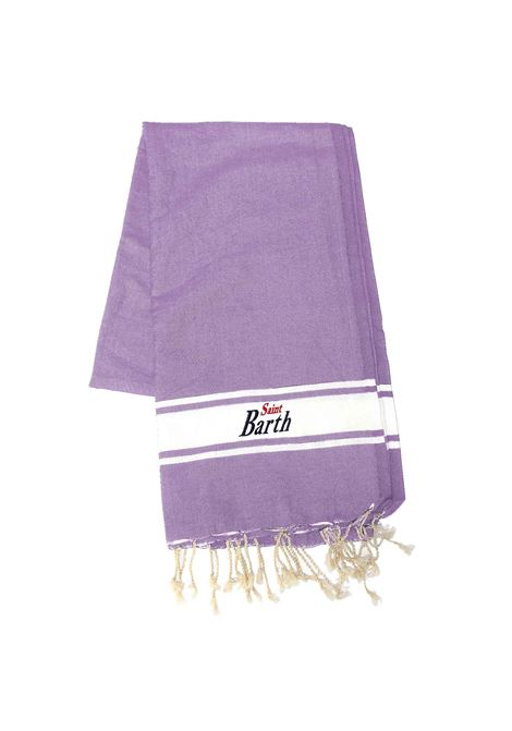 Cotton beach towel with Wisteria fringes MC2 SAINT BARTH | Beach Towel | FOUTAS24