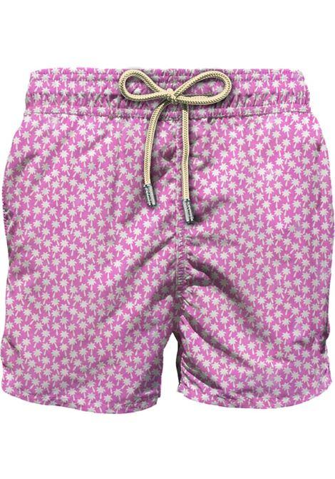 Swimsuit in light fabric with micro jellyfish pattern MC2 SAINT BARTH | Beachwear | LIGHTING MICROFORE21