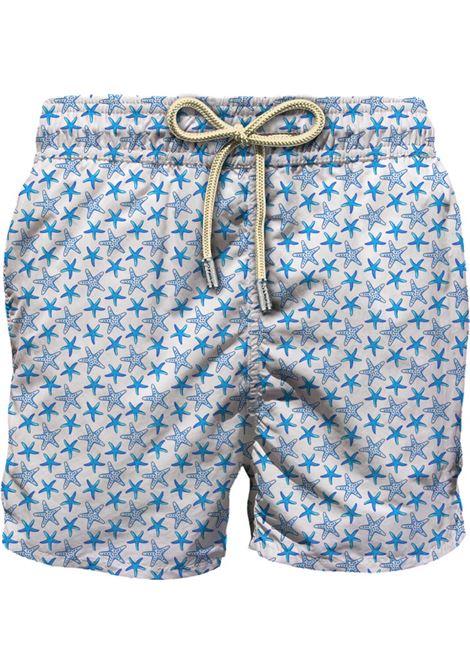 Swimsuit in light fabric with micro stars pattern MC2 SAINT BARTH | Beachwear | LIGHTING MICROHITO01