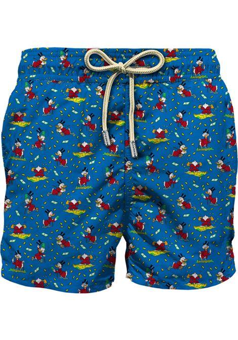 Swimsuit in ultra-light fabric with micro Scrooge pattern MC2 SAINT BARTH | Beachwear | LIGHTING MICROPRDL17