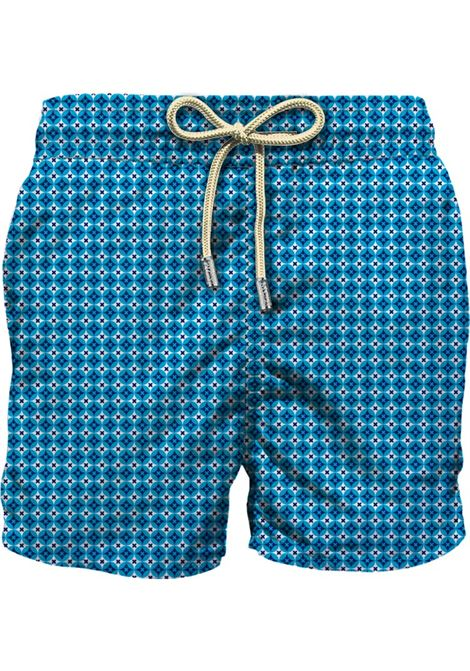 Swimsuit in ultra-light fabric with micro flower pattern MC2 SAINT BARTH | Beachwear | LIGHTING MICRORMCR63
