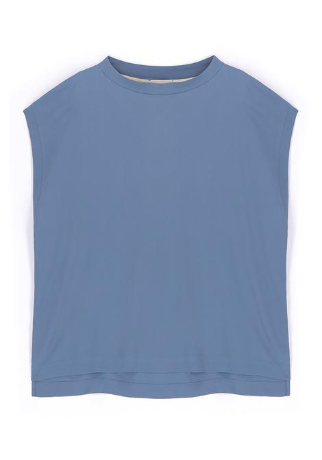 Habutay sky silk blouse MOMONI | Blouses | MOBL0050821