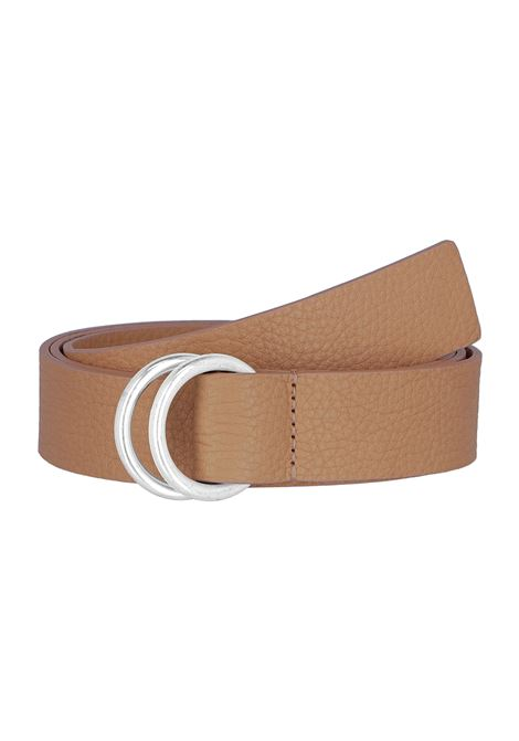 Leather belt MOMONI | Belts | MOBT0020153