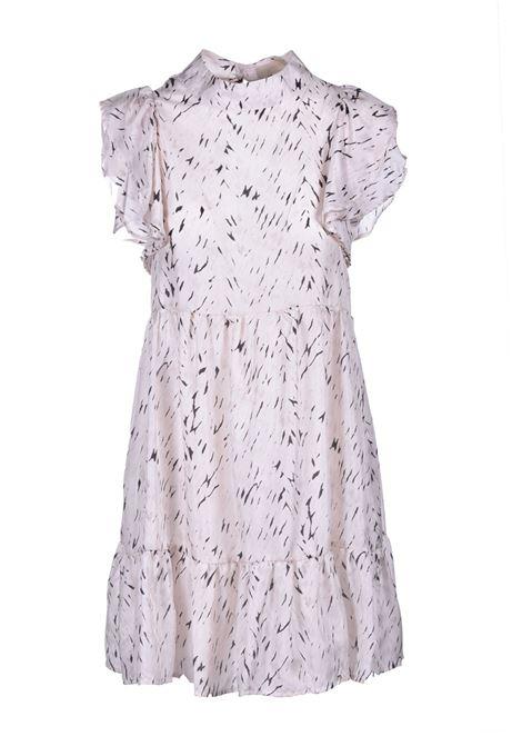 Short dress in cream and black Habutay print MOMONI |  | MODR0111910
