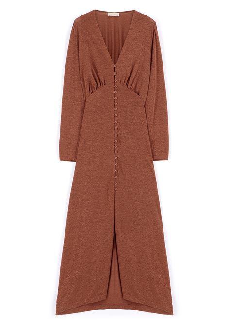 Long dress in lurex jersey MOMONI |  | MODR0140618