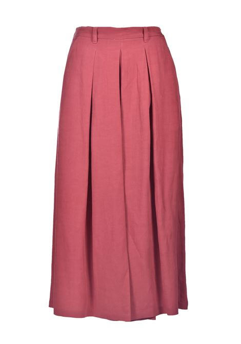 Trouser skirt in viscose and linen fabric MOMONI | Pants | MOPA0070410