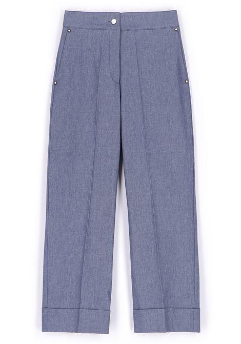 Pantalone in denim di cotone stretch MOMONI | Pantaloni | MOPA0140890