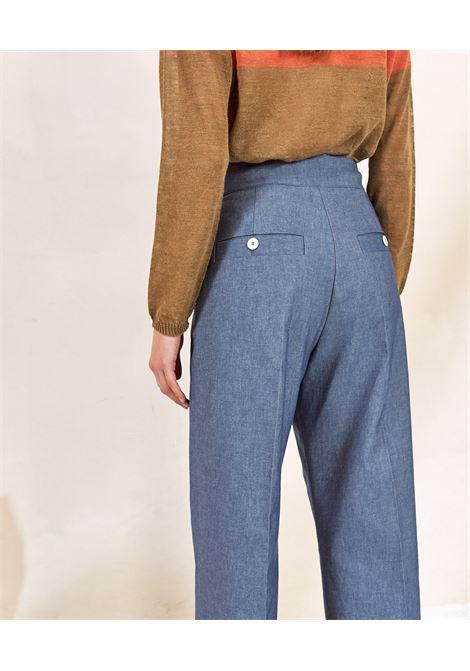 Stretch cotton denim trousers MOMONI   Pants   MOPA0140890