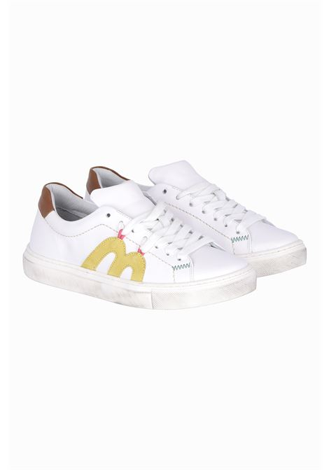 White leather sneakers MOMONI | Sneakers | MOSS0060016