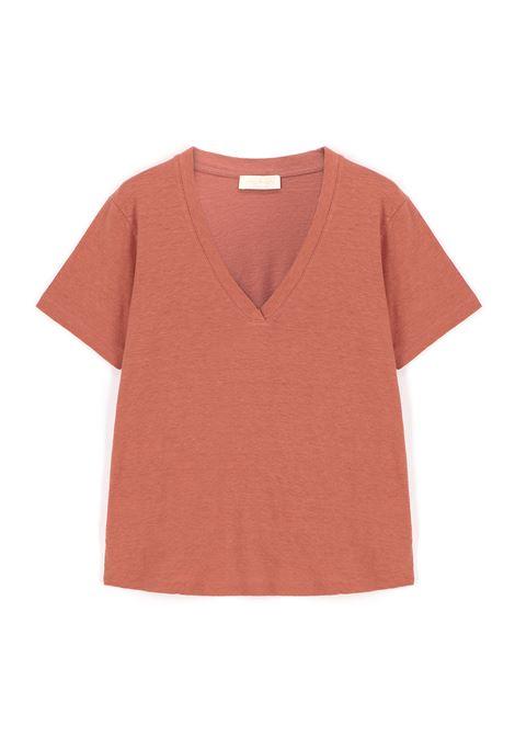 Pink cotton jersey T-shirt MOMONI |  | MOTS0050450